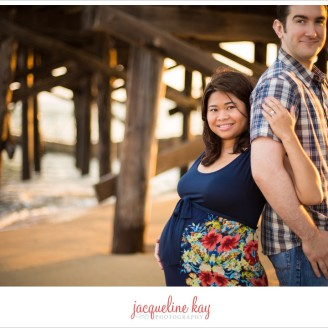 Seal Beach maternity session